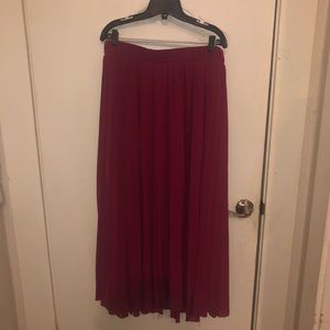 Torrid Midi Pleated Skirt